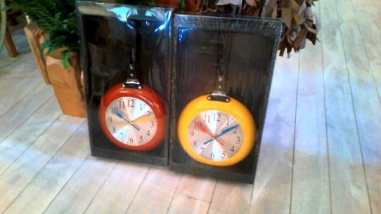 フライパン時計