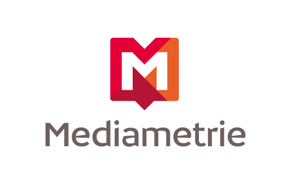 logo médiametrie - La communication_fr