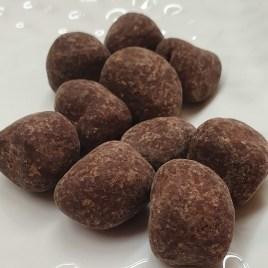 Cubes de gingembre enrobées de chocolats 100% bio