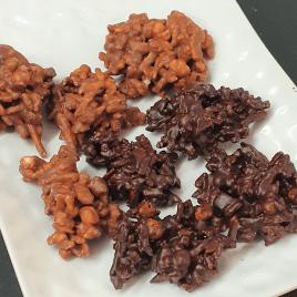 Crunchy choco-orange