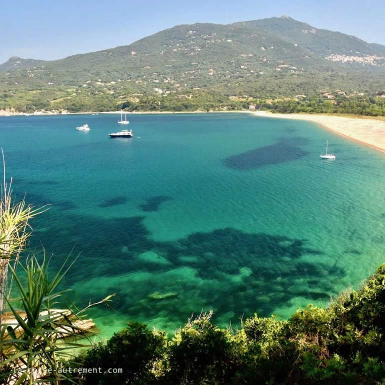 Propriano, plage de Baracci