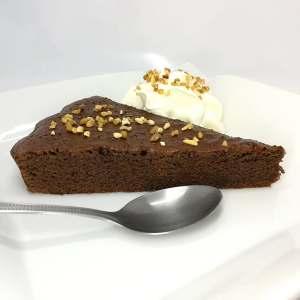 Gâteau fondant au chocolat protéiné