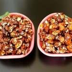 Pop-corn chocolat caramel protéiné