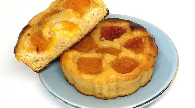 Gâteaux légers aux abricots et aux pois chiches