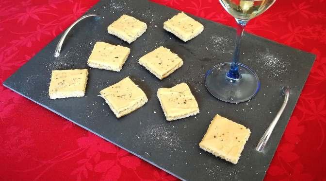 toasts à la crème de foie gras riche en protéines