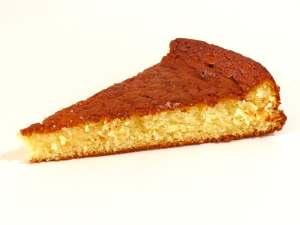 gâteau moelleux, fondant et protéiné à la vanille