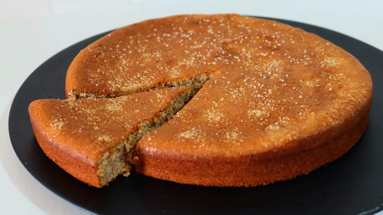 gâteau moelleux aux amandes diététique