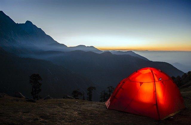 Camping Travel Sunrise Adventure