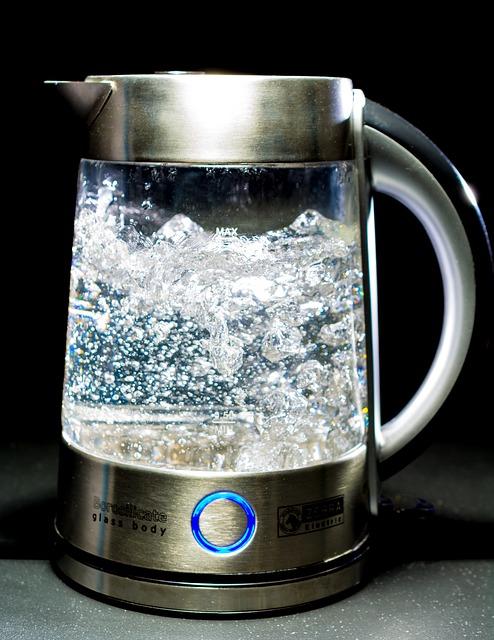 Kettle Glass Water Blow Geraert