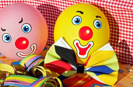 Clowns Faces Funny Color Colorful  - Couleur / Pixabay