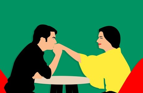 Compliment Couple Love Cafe Dating  - mohamed_hassan / Pixabay