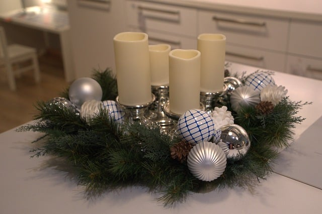 Wreath Advent Advent Wreath  - webandi / Pixabay