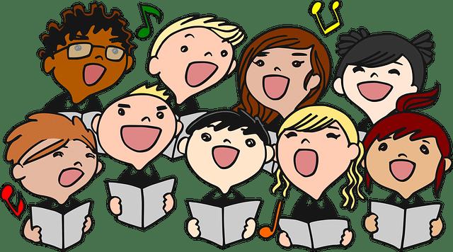 Chorale enfantine de Noel - gustavorezende / Pixabay
