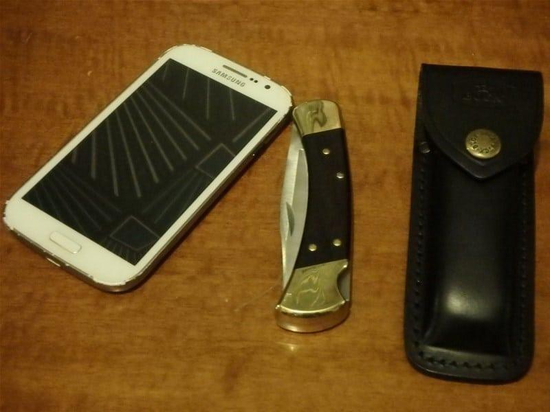 comparatif couteau buck