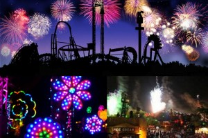 Celebrating New Year's Eve at Knott's Berry Farm