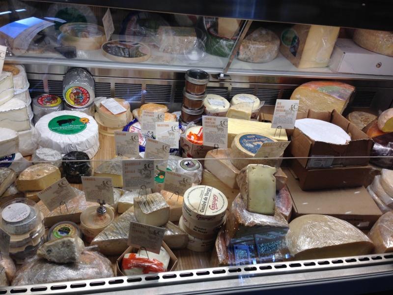 Shopping at The Cellar Cheese Shop