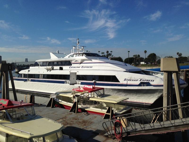 Taking a Catalina Island Glass Bottom Boat Tour