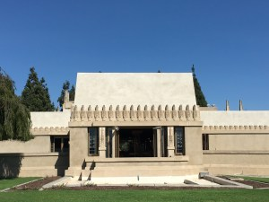 Visiting Frank Lloyd Wright's Hollyhock House