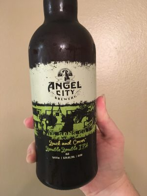 Indulging in Angel City Imperial Irish Red Ale