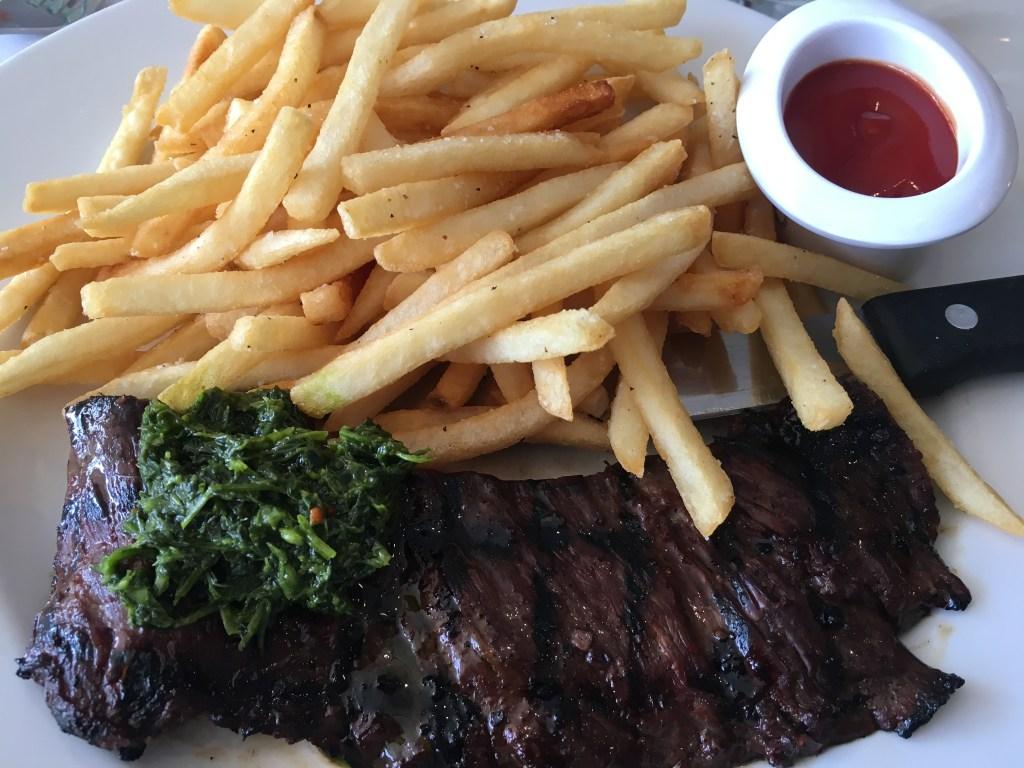 Dining at TRIO Palm Springs