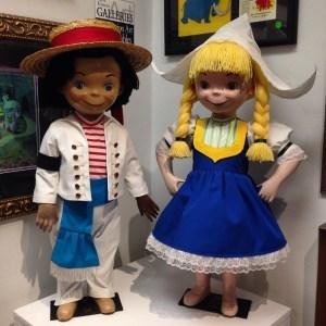 Viewing Disneyland Memorabilia at Van Eaton Galleries