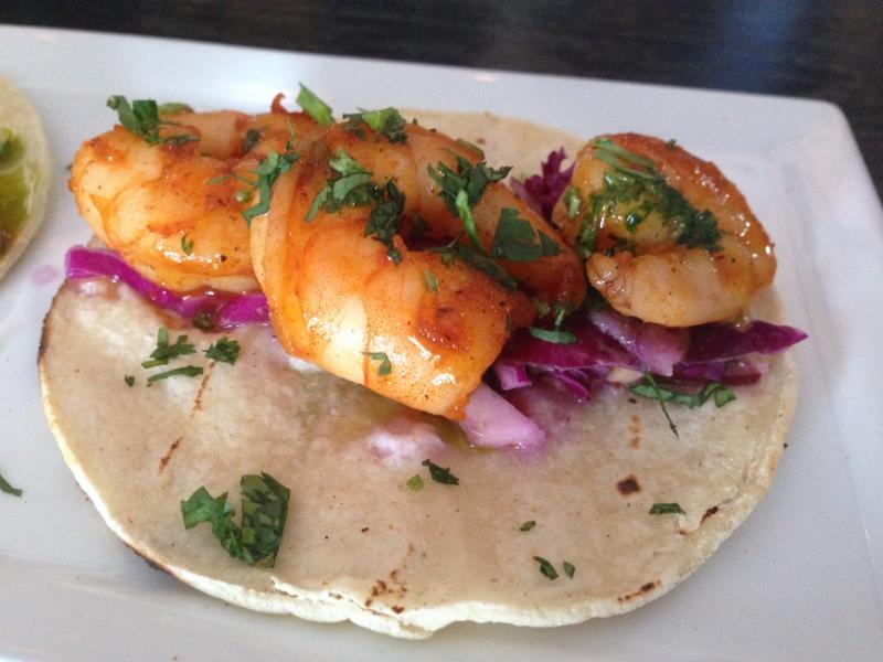Shrimp Taco - Detour Bistro Bar
