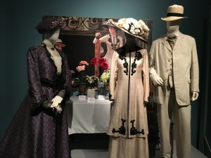 Viewing Dressing Downton at Muzeo