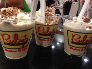 Summer Shakes at Ruby's Diner