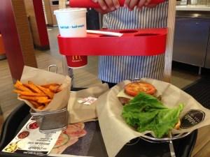 Creating My Own Burger at McDonald's