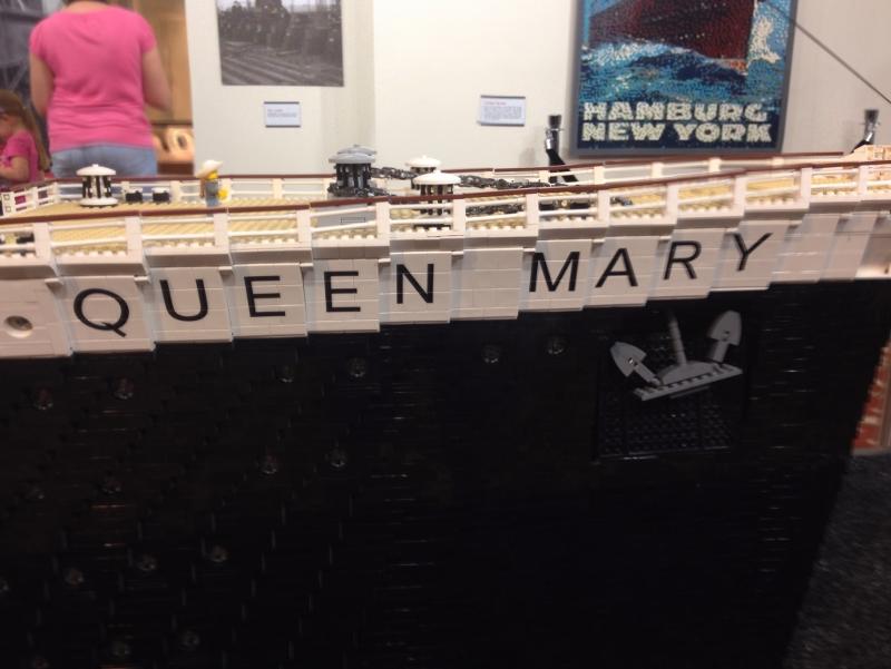 LEGO Comes to The Queen Mary