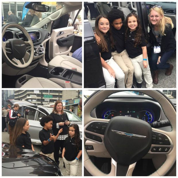 Experiencing the all-new Chrysler Pacifica