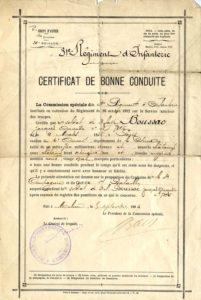 simard, première guerre mondiale, 1GM