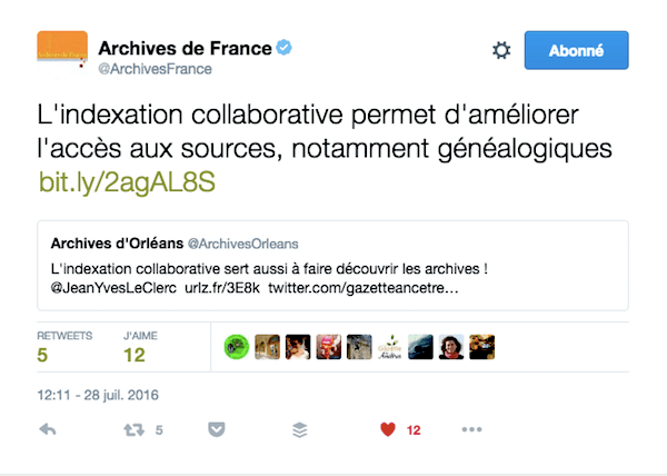 indexation, archives, associations, généalogie