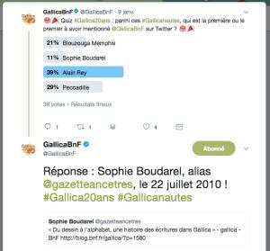 gallica 20ans