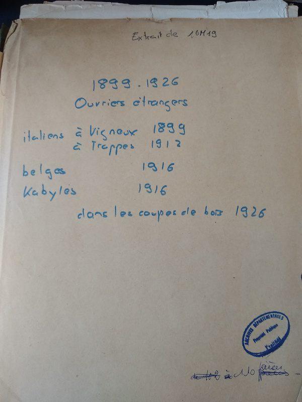 travailleurs étrangers, fichage, généalogie, généalogiste professionnel, French professional genealogist, archives