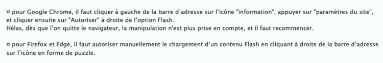 fin de flash player, challengeaz, généalogie,