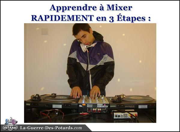 apprendre a mixer