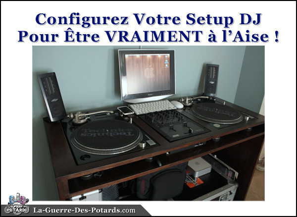 setup dj ideal