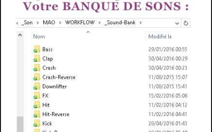 production musicale banque son