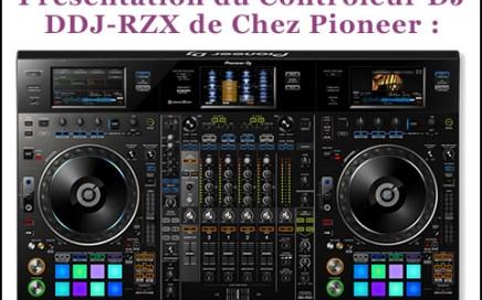 controleur dj ddj-rzx pioneer