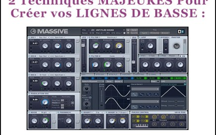 production musicale ligne de basse