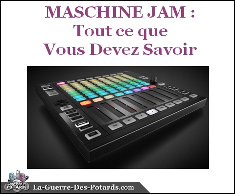 production musicale maschine jam