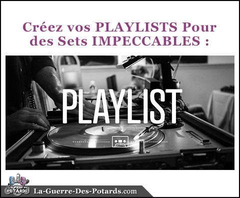 set dj playlist