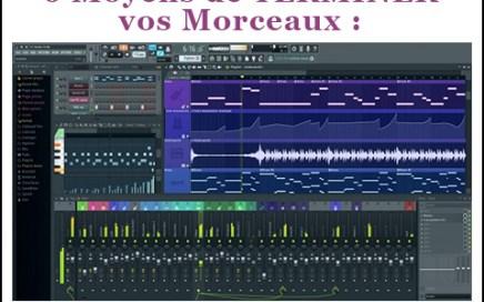 production musicale morceau