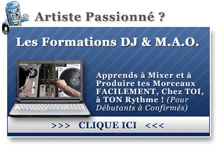 Les Formations DJ et M.A.O.