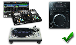 logiciel DJ platines cd vinyles