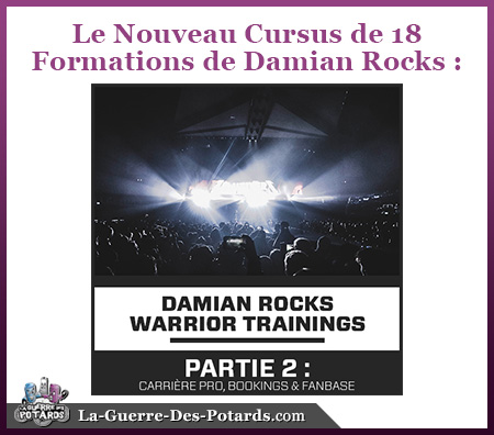 formation dj production musicale damian rocks upcrowder