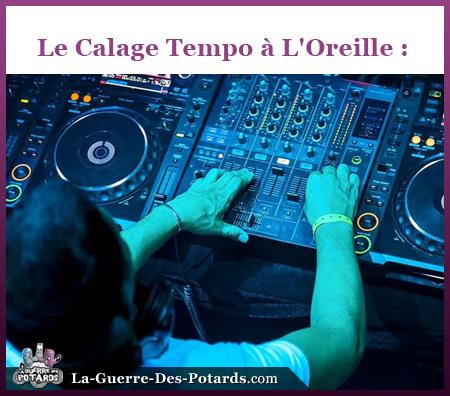 tuto DJ calage tempo