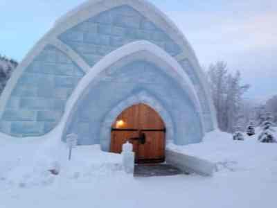 アラスカ、チナ温泉