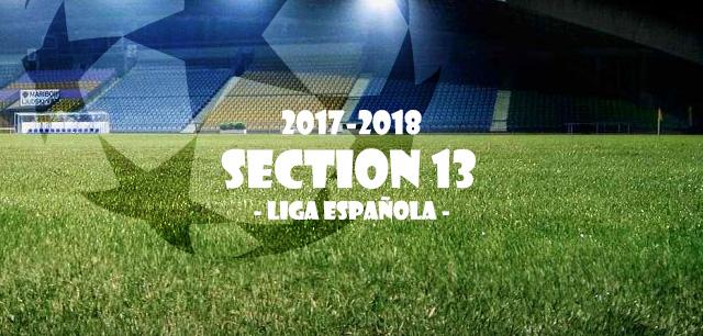 第13節 リーガ・エスパニョーラ(Liga Española)